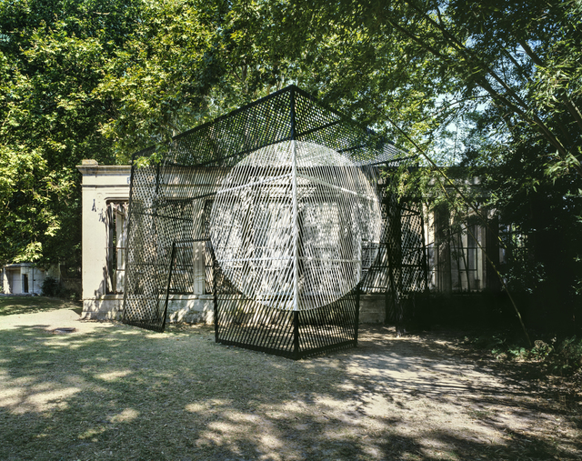 """Georges Rousse, '""""Château des Alpilles (Saint Rémy)""""', 2019, Galerie Catherine Putman"""