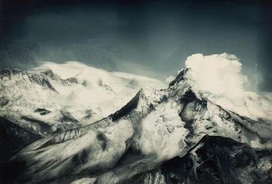 """""""Give me your Word"""" Amadablam Himalaya"""