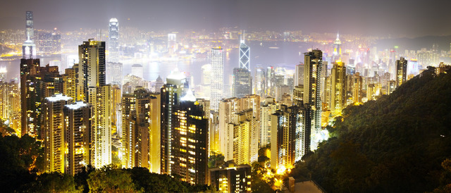 , 'Hong Kong Lights,' 2010, Contessa Gallery