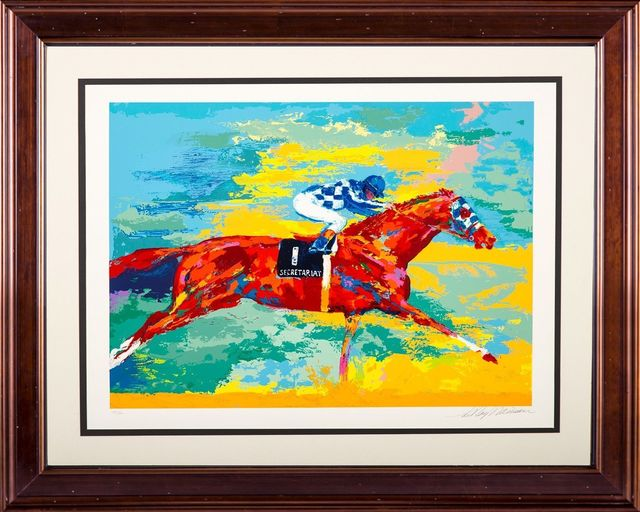 LeRoy Neiman, 'The Great Secretariat Serigraph Signed Limited Edition', 1973, Modern Artifact
