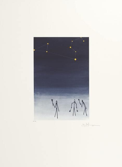 Jasper Johns, 'Leo from the portfolio of Leo Castelli's 90th Birthday', 1997, Hamilton-Selway Fine Art