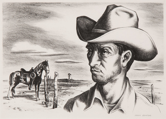 , 'Ranch Hand and Pony,' 1944, Valley House Gallery & Sculpture Garden