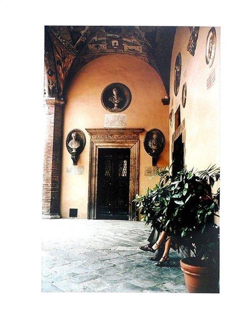 Joel Meyerowitz, 'Tuscany, Couple, Siena 1996', 1996, Lions Gallery
