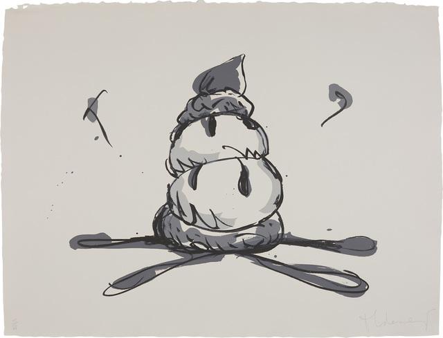 Claes Oldenburg, 'Profiterole/Gray State', 1990, Phillips