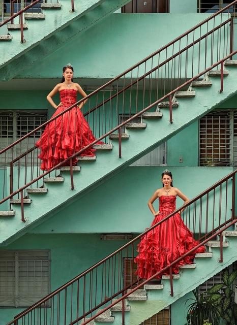 , 'Kiara Isabel & Karla Amelia Soliño González, La Habana, Plaza de la Revolución, Nuevo Vedado,' 2016, Sean Kelly Gallery