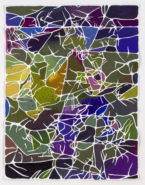 , 'Purple Field,' 2013-2014, Edward Cella Art and Architecture