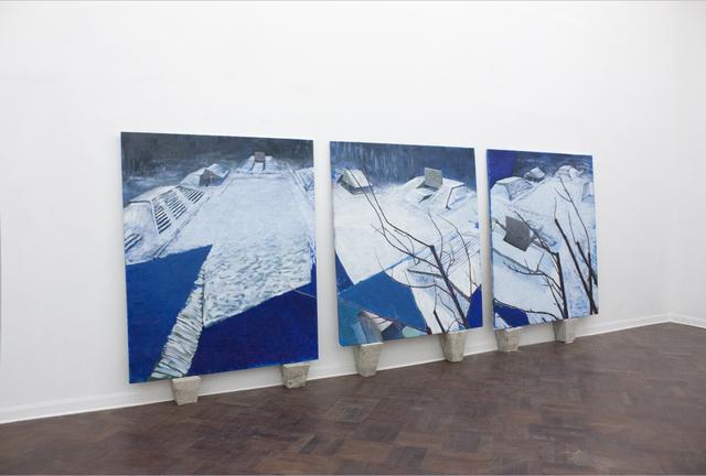 , 'Pirámides,' 2017, 80M2 Livia Benavides