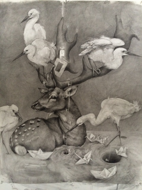 , 'Deer Outlet,' , Visions West Contemporary