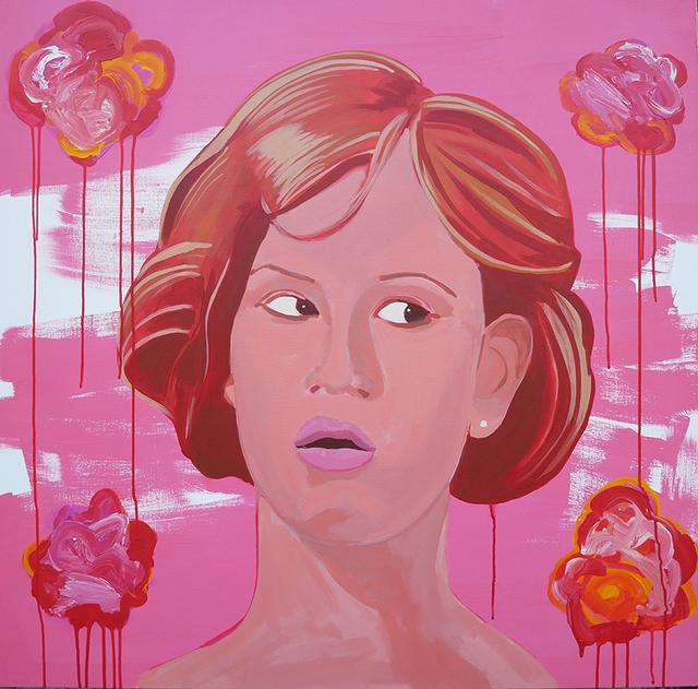 Frank Buffalo Hyde, 'She's pretty in pink', 2017, Art Ventures Gallery