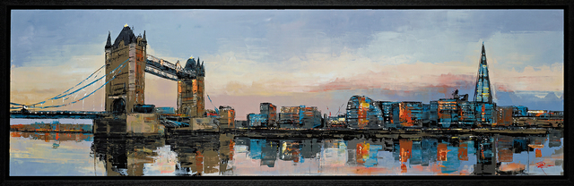 , 'Tower Bridge Reflects,' 2019, Castle Fine Art