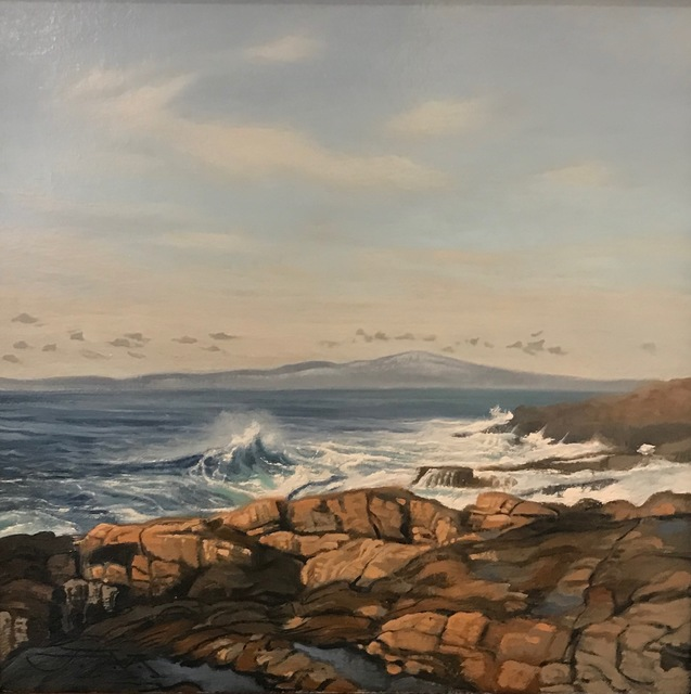 , 'Schoodic Point, Maine,' 2019, Copley Society of Art