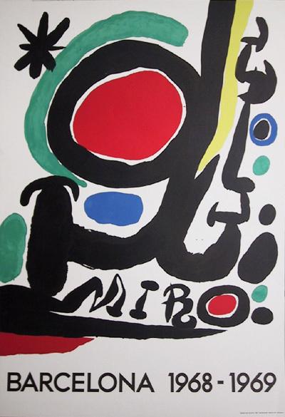 Joan Miró, 'Barcelona', 1968, Ephemera or Merchandise, Lithograph Poster, RoGallery