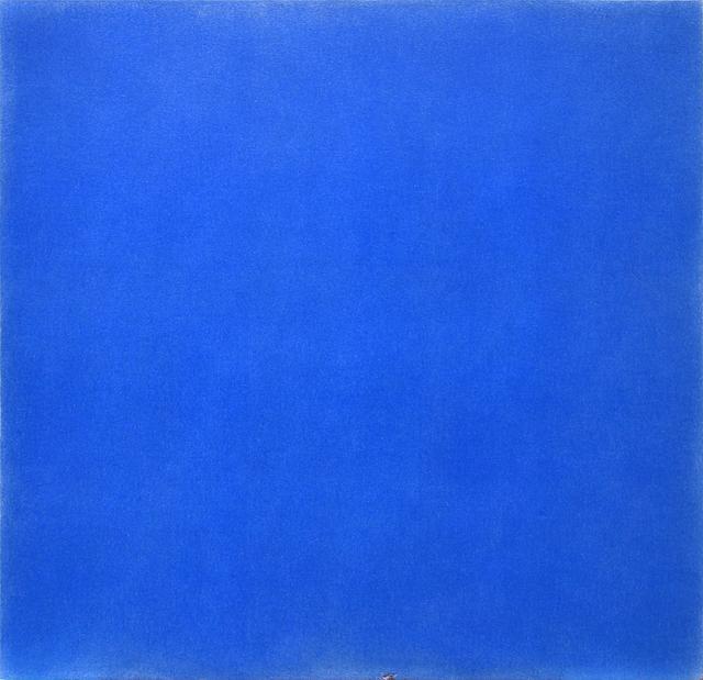 , 'Untitled (blue),' 2000, George Lawson Gallery