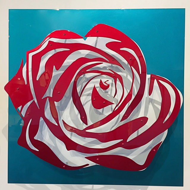 Michael Kalish, 'Candy Chrome Rose V ', 2017, Off The Wall Gallery