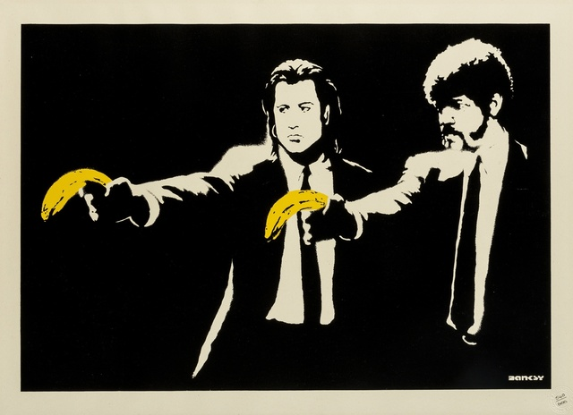Banksy, 'Pulp Fiction', 2004, Forum Auctions