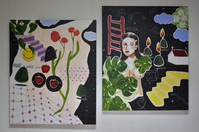 , 'Asmara (diptych),' 2018, Chan + Hori Contemporary