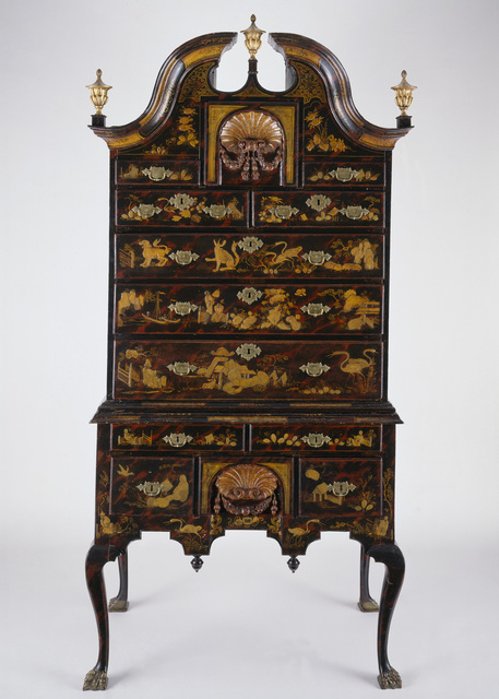 , 'Japanned High Chest,' 1730-1739, Museum of Fine Arts, Boston