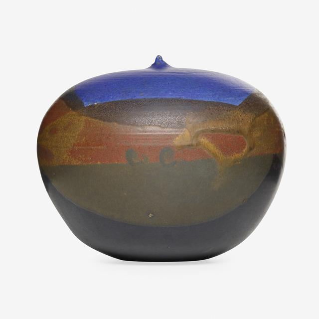 Toshiko Takaezu, 'Closed Form', Textile Arts, Glazed porcelain, Rago/Wright