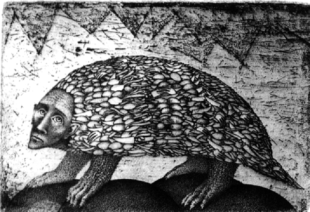 nele zirnite, 'Dasypopidae', 1992, Turner Carroll Gallery