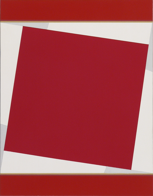 , 'Coptic Red,' 2017, FRED.GIAMPIETRO Gallery