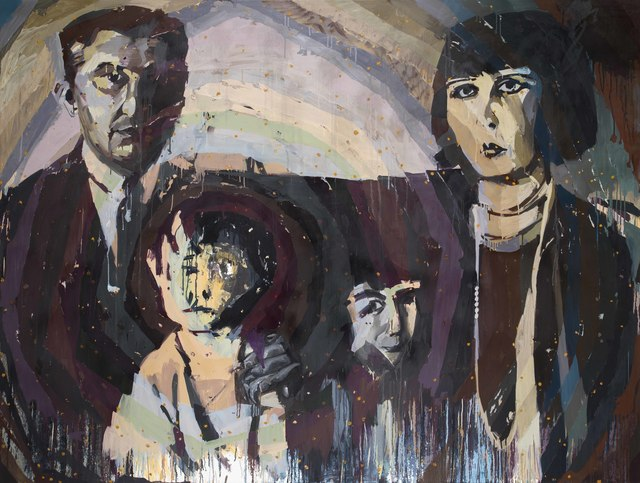 , 'Vildan Uzel and Her Family,' 2016, Zilberman Gallery