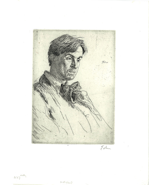, 'William Butler Yeats,' 1907, The Fine Art Society