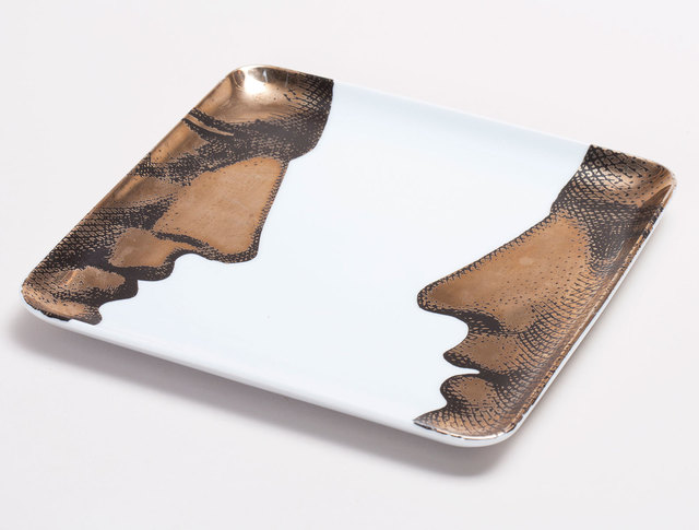 Piero Fornasetti, 'Ceramic Tray', 1970, Patrick Parrish Gallery