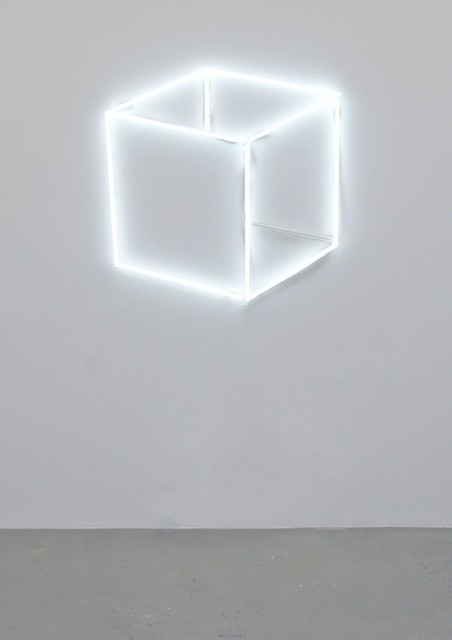Jeppe Hein, 'Neon Cube Perspective', 2013, 303 Gallery