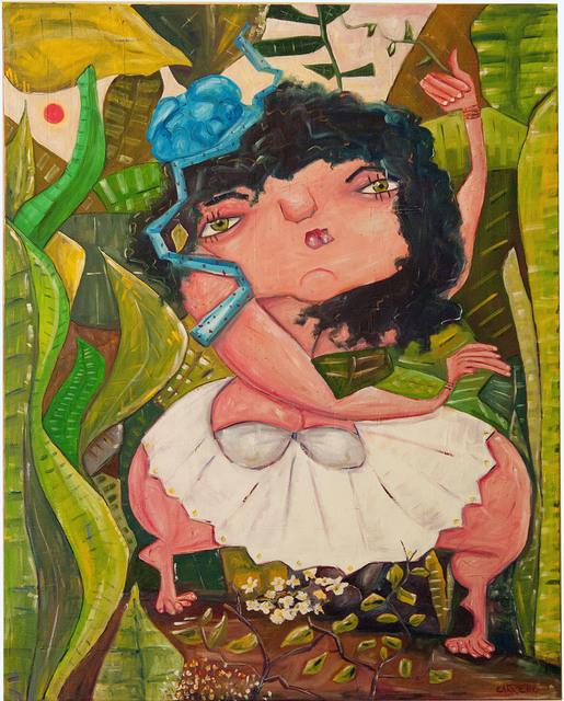 Fabiano Carriero, 'Moça da Mata', 2017, Ligia Testa Espaço de Arte