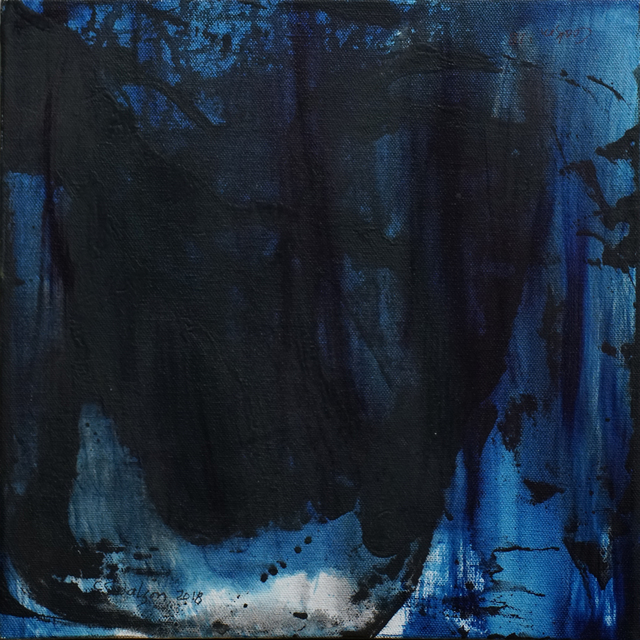 Carolyn Coalson, 'Black and Blue', 2018, Phillips Gallery