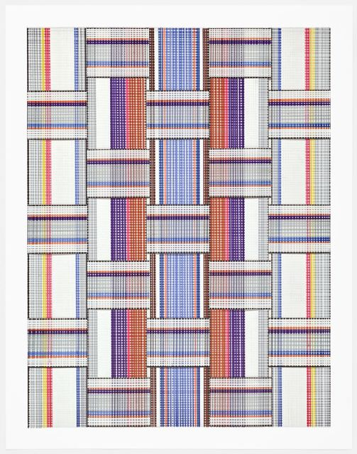, 'Leisure Weave 5,' 2017, Morgan Lehman Gallery