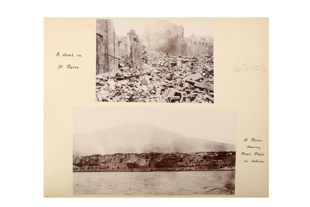 Various Photographers, 'The Eruption Of Mount Pelèe, Martinique', 1902, Chiswick Auctions