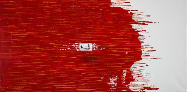 , 'In Red (Horizon Series),' 2016, Gallery LVS