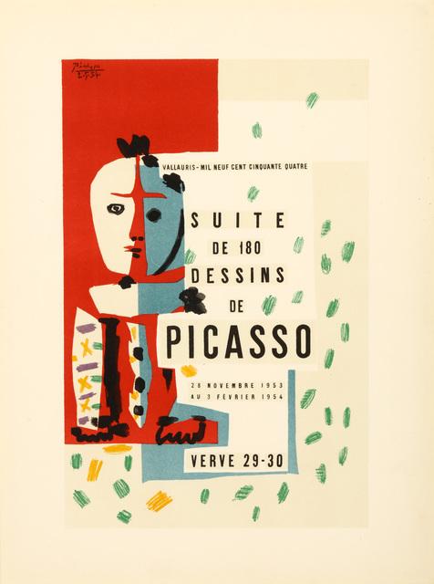 Pablo Picasso, 'Suite De 180 Dessins De Picasso', 1954, Print, Lithograph in colours, Chiswick Auctions