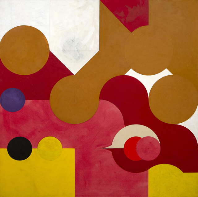 Hassel Smith, 'King Clone', 1978, Heather James Fine Art