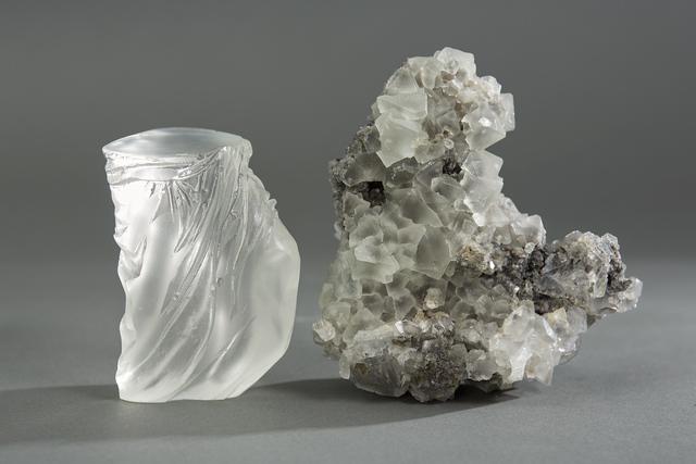 , 'Debra Baxter, Together, 2018, cast glass, fluorite,' 2018, form & concept