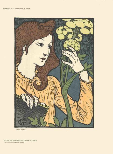 Eugène Samuel Grasset, 'Eugene Grasset - Salon des Cent (before text) - 1897', 1897, ArtWise