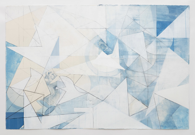 Celia Gerard, 'Ghost Bird', 2016, Drawing, Collage or other Work on Paper, Mixed media on paper, Sears-Peyton Gallery