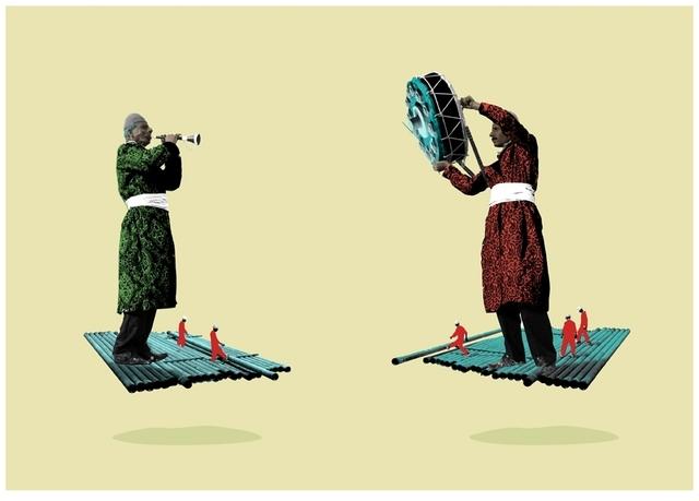 Amin Roshan, 'Soleiman's Rug', 2016, Janet Rady Fine Art