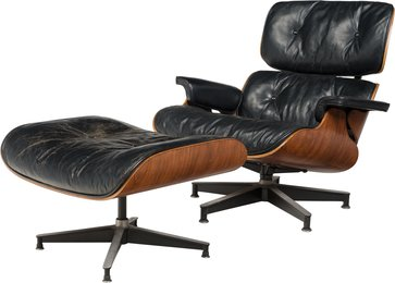 Eames Lounge Chair (670) and Ottoman (671)