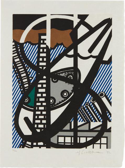 Roy Lichtenstein, 'Une Fenêtre ouverte sur Chicago (A Window Open on Chicago), from La nouvelle chute de l'Amérique (The New Fall of America)', 1992, Phillips