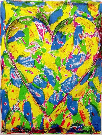 Jim Dine, 'The Blue Heart', 2005, Kenneth A. Friedman & Co.