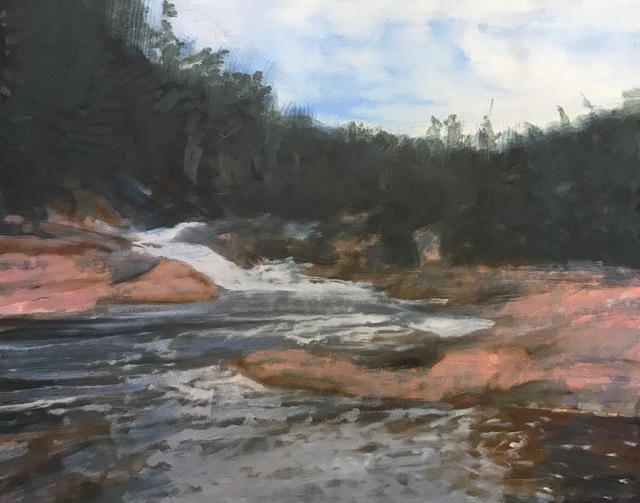 , 'Chippewa Falls Above Superior,' 2019, Les Yeux du Monde Gallery