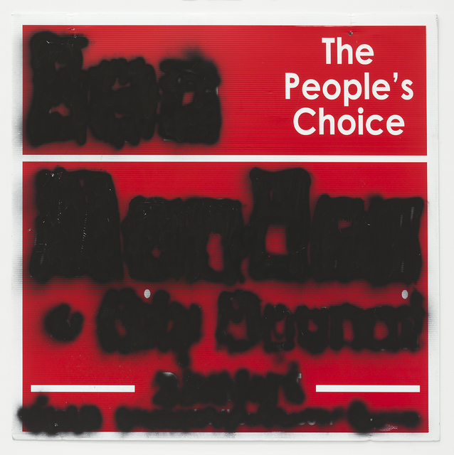 , 'People's Choice Mute,' 2014, Feuer/Mesler
