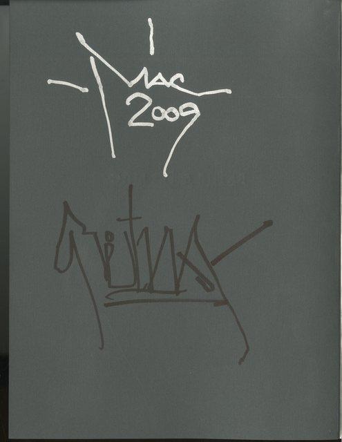 "RETNA, ' ""Vagos y Reinas""(Vagabonds and Queens) - Limited Edition, Retna and El Mac Exhibition Catalog, Hand Signed by both Artists', 2009, Alpha 137 Gallery"