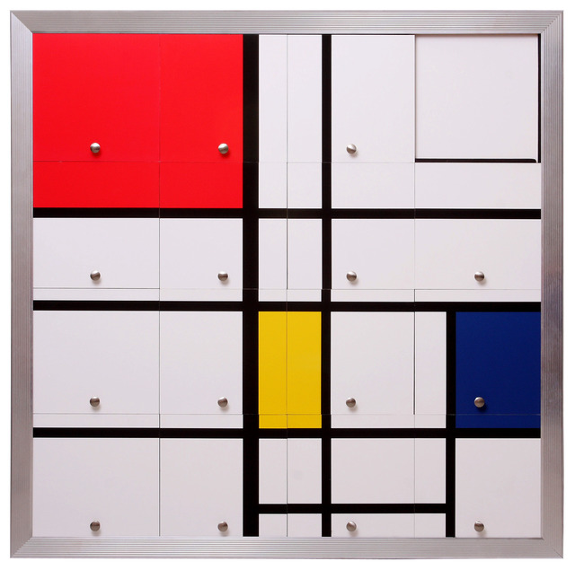 , 'Homenagem a Mondrian II (Homage to Mondrian II),' 2010, Silvia Cintra + Box 4