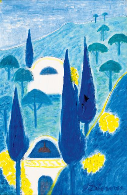 , 'Cypresses on the Algarve,' ca. 1965, Galerie Kovacek & Zetter