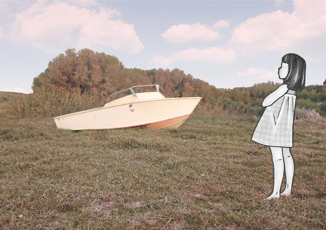 , 'A boat come in,' 2019, Barnard