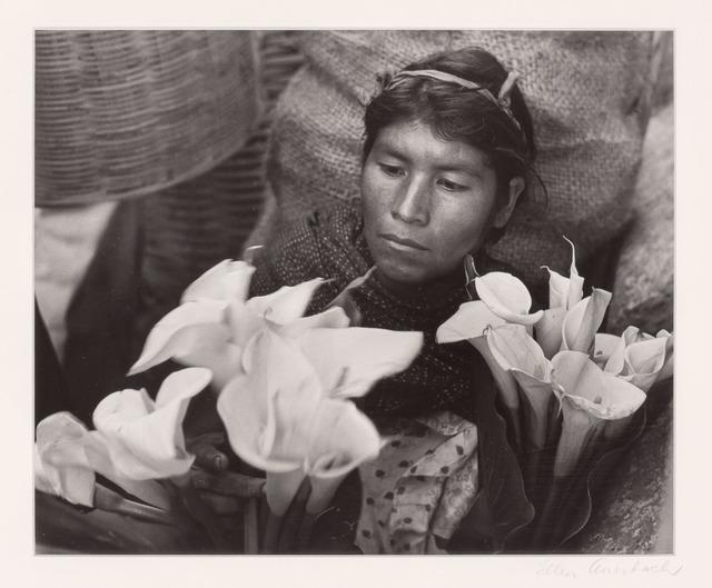 Ellen Auerbach, 'Lily woman, Oaxaca, Mexico', 1959, Doyle
