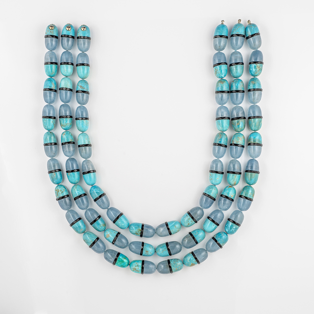 , 'Triple Pill Necklace,' 2016, Cora Sheibani Ltd